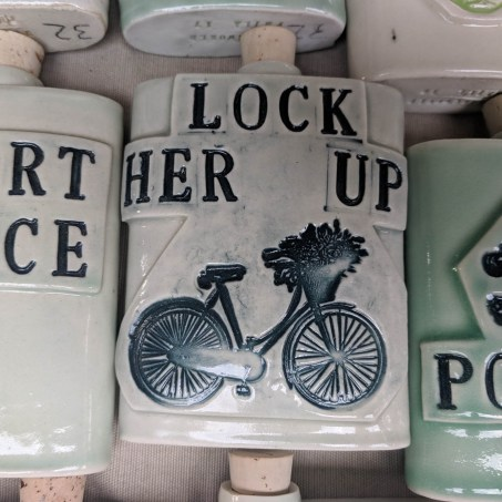 ceramic flasks