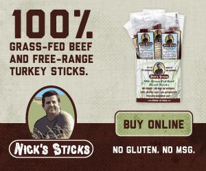 100% Grass-Fed Beef and Free-Range Turkey Sticks