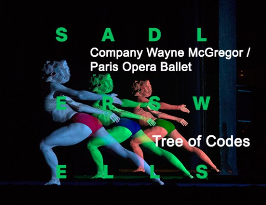 Tree of Codes Sadler's Wells