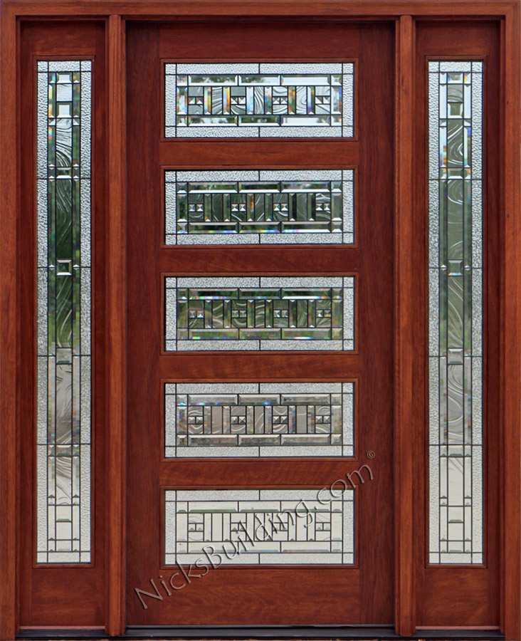 and crafts doors craftsman style doors mission style doors front