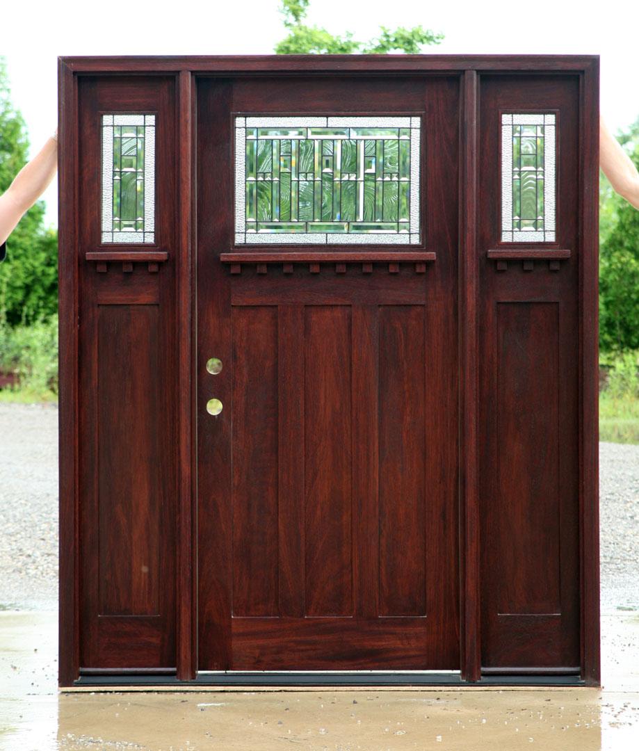 Craftsman Doors Craftsman Style Doors With Sidelights