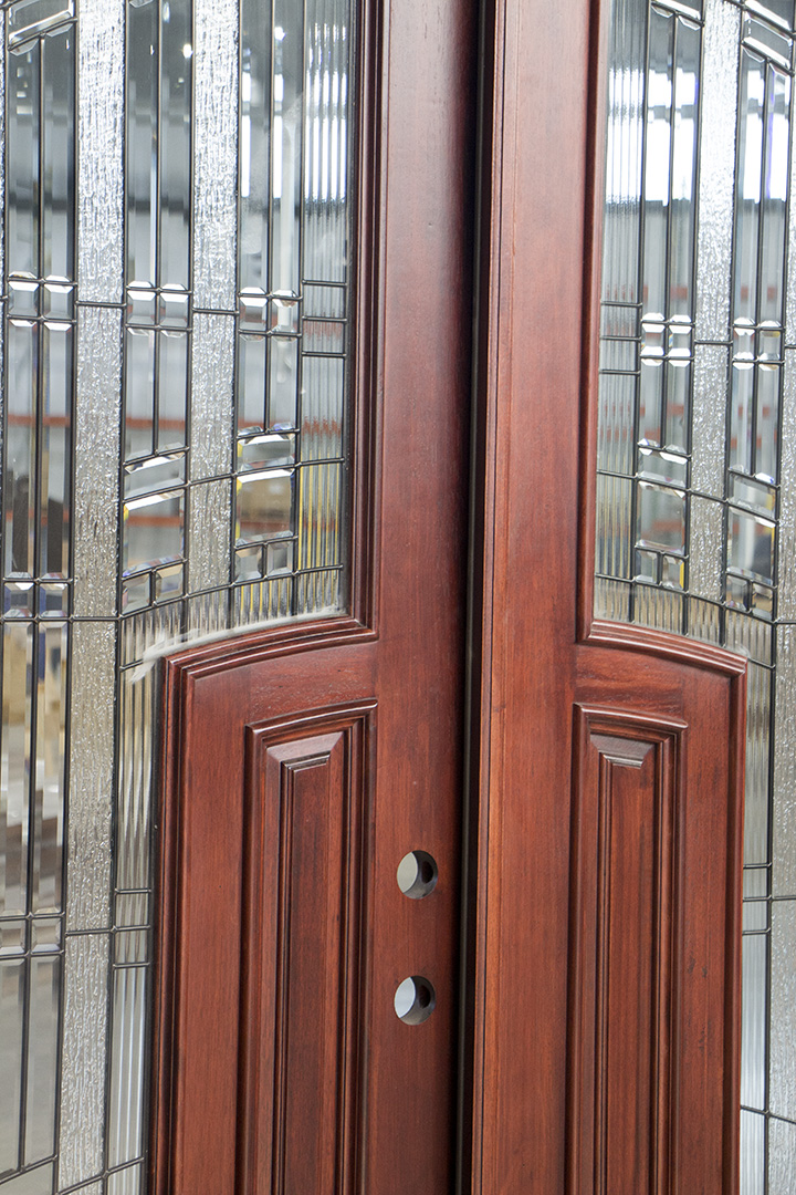 Arched Interior Double Doors