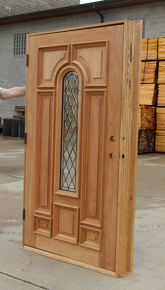 Arched Double Doors Interior