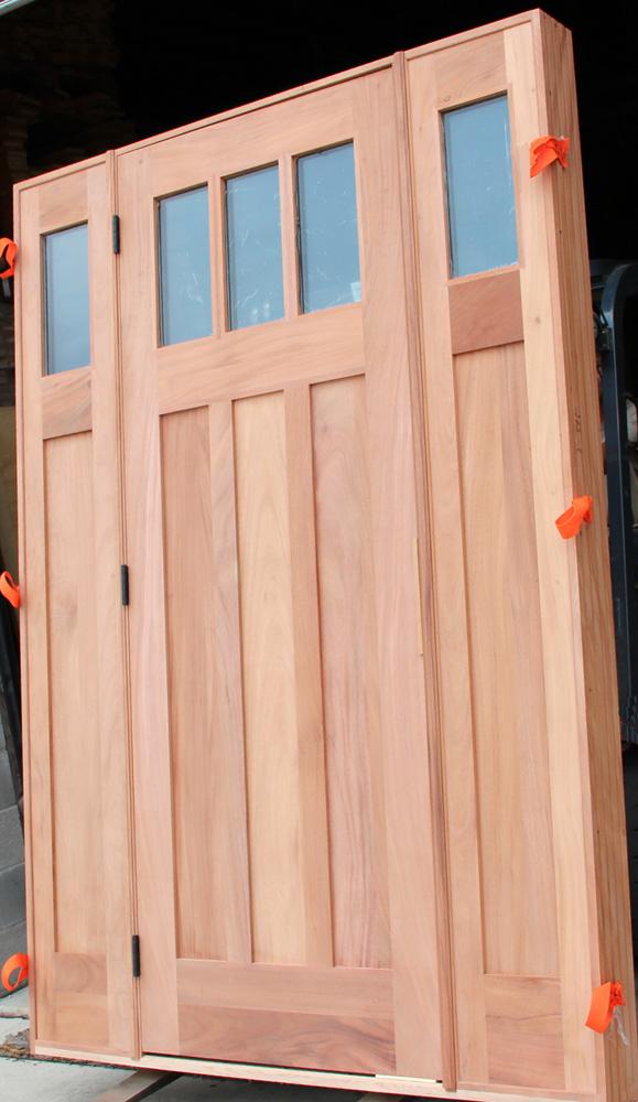 Custom Craftsman Doors Exterior Mahogany Craftsman Doors 8
