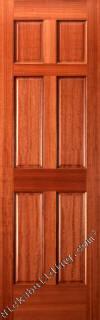 Six Panel Mahogany Interior Doors