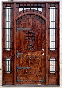 Rustic Exterior Doors Tuscany Entry Doors Mediterranean