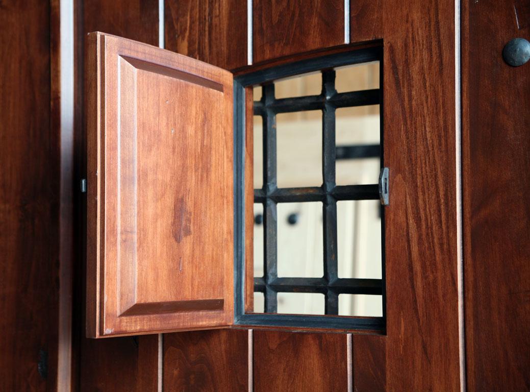 Rustic Exterior Double Doors