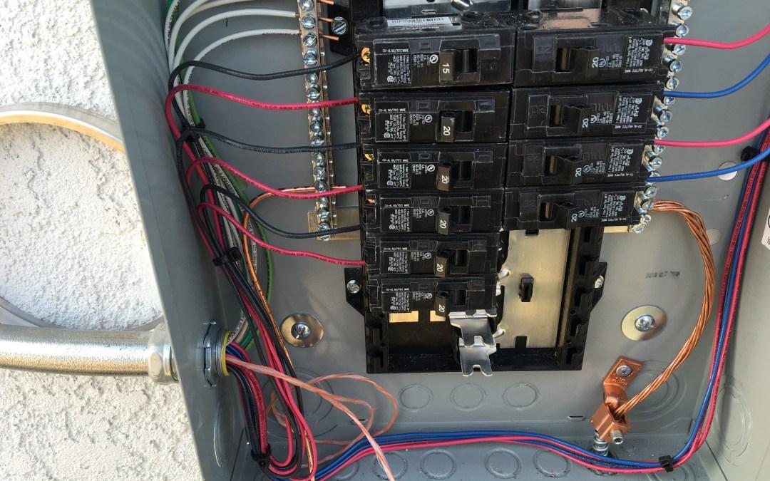 200 amp Panel Upgrade – Chino