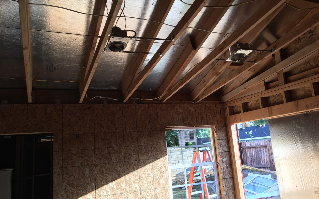 Recessed can install