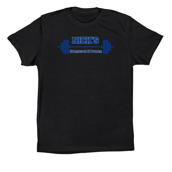 Nick's Strength & Power T-shirt