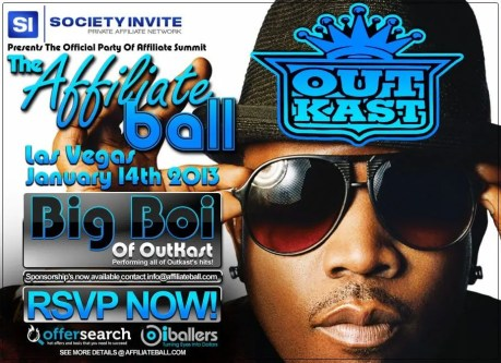 Affiliate Ball signs Big Boi of Outkast for ASW ? Vegas