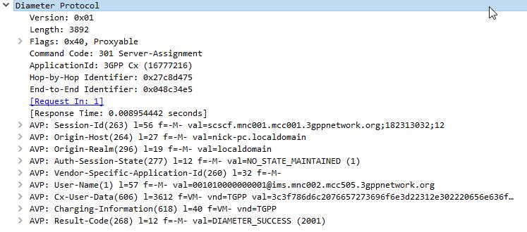 Diameter - Server Assignment Answer - All