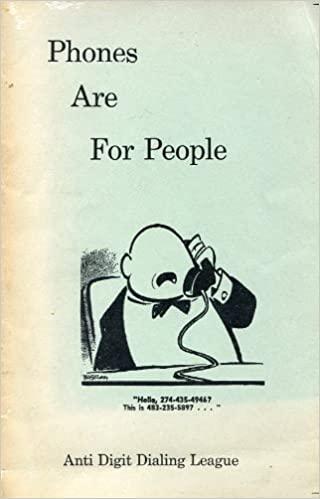 The Anti-Digit Dialing League