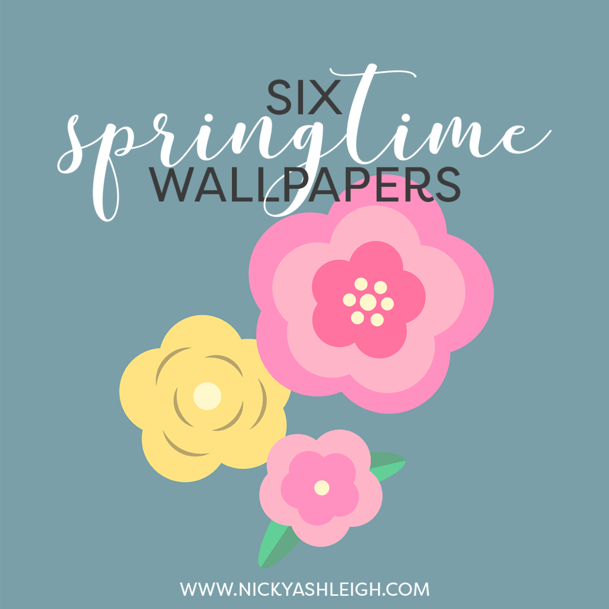 Six Spring Phone Wallpapers