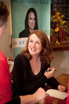 Nicky Pellegrino, bestselling author