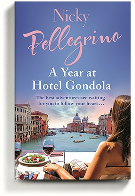 A Year at Hotel Gondola, novel by Nicky Pellegrino