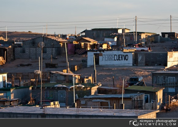 Juarez, Mexico. The build neighborhood.