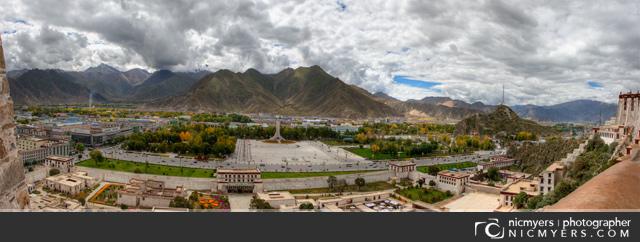 Lhasa Tibet Panoramic 2