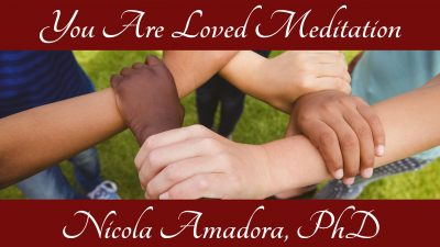 You are loved. Thumbnail for meditation