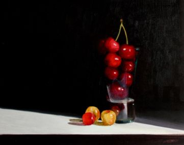 Cherries glazed and glacé