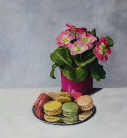 Primulas and macaroons