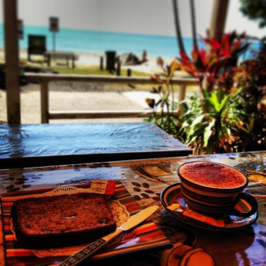 Breakfast at Etty Bay