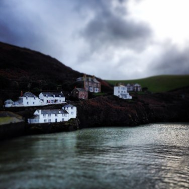 While House Cottage, Port Isaac, top left corner