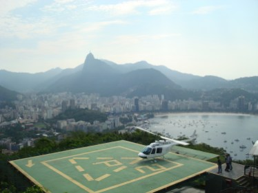 View of Corcovado from Sugar Loaf