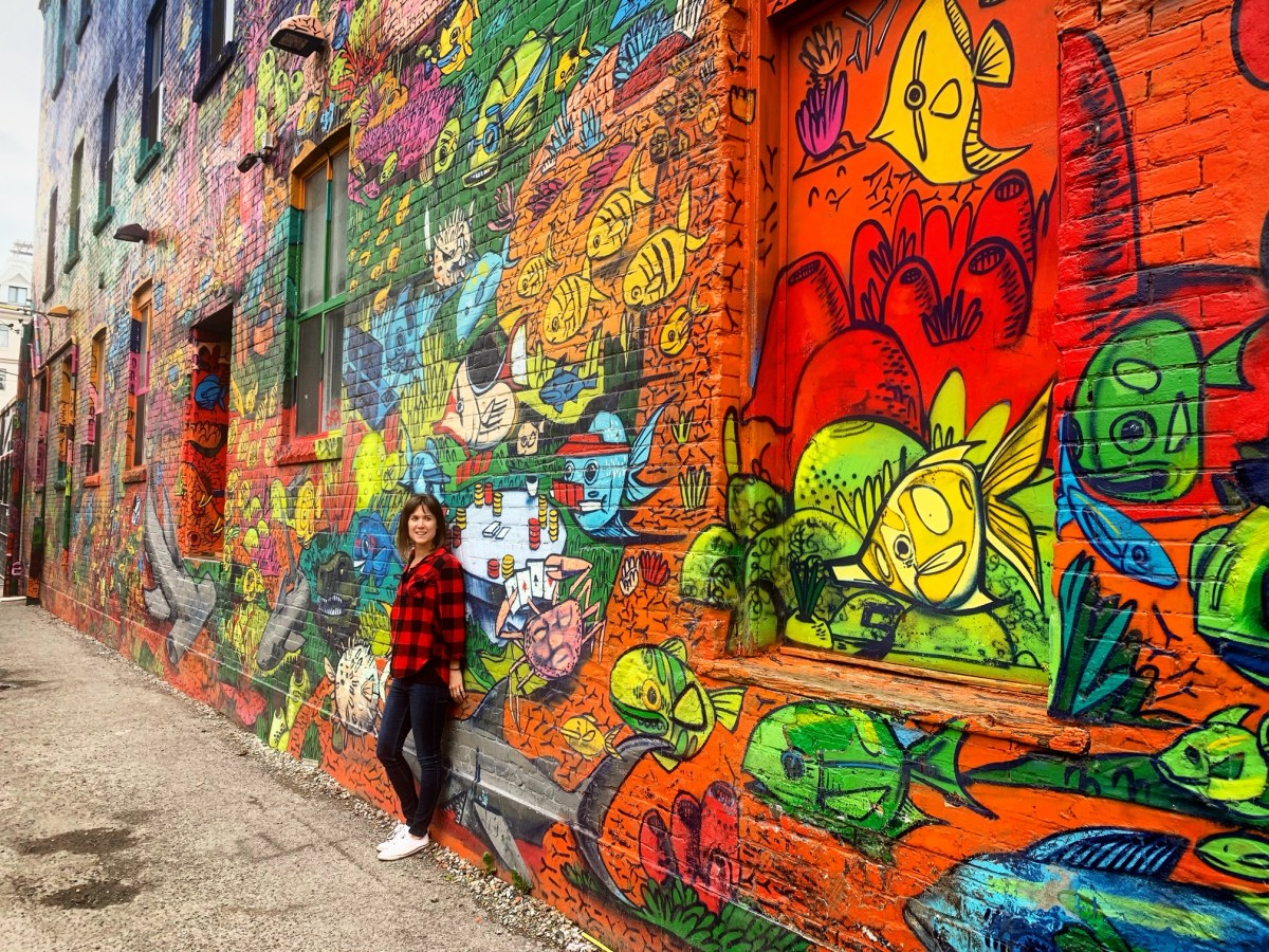 Graffiti Alley, Toronto.
