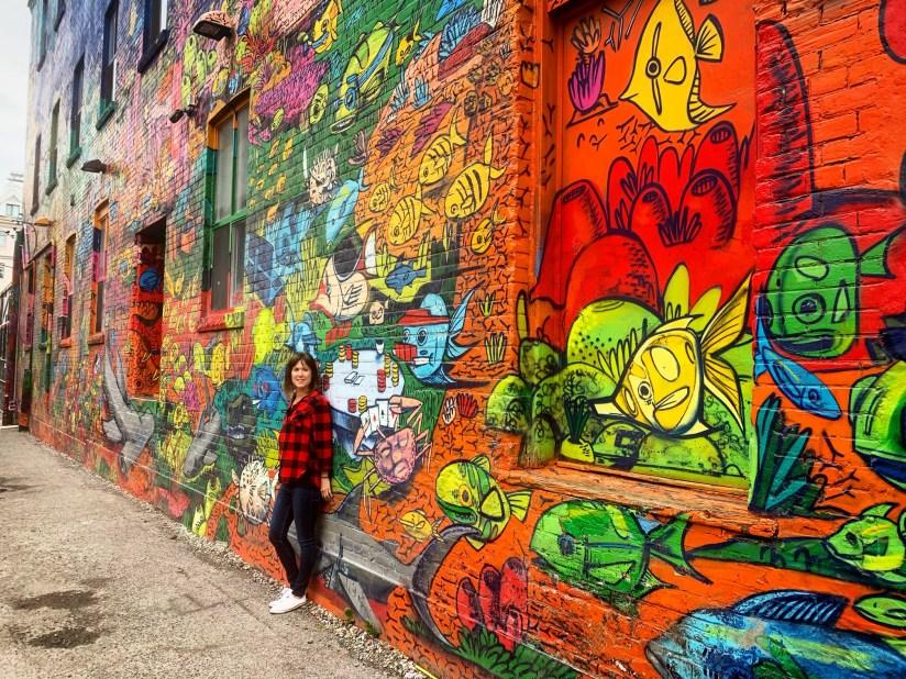 Graffiti Alley, Toronto.
