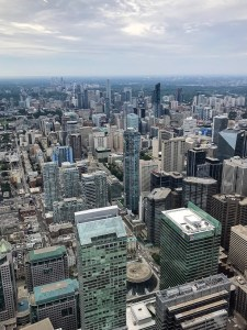Views of Toronto from the CN Tower.