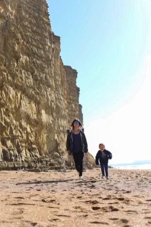East Cliff Beach, West Bay, Dorset