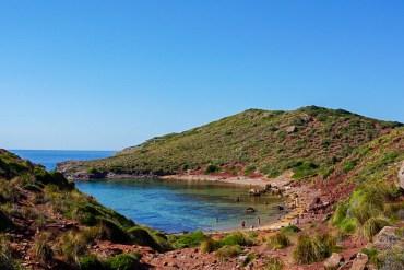 Pregonda Beach, Menorca.