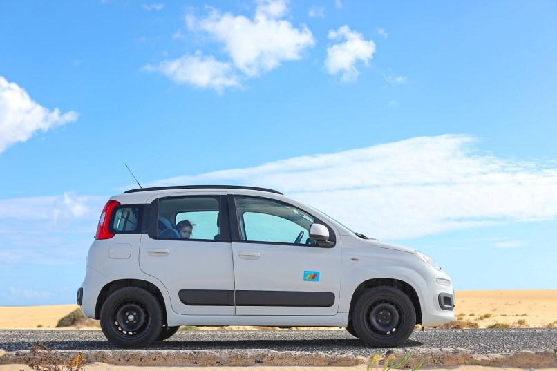 Hire car, Fuerteventura