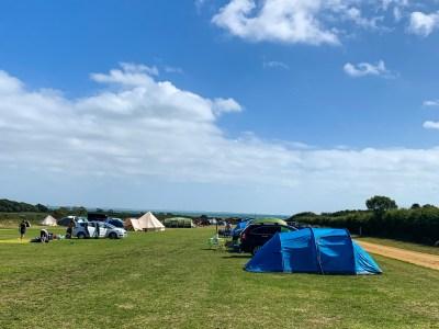 Lepe Beach campsite