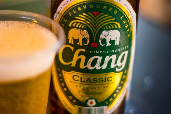 Chang beer, bangkok