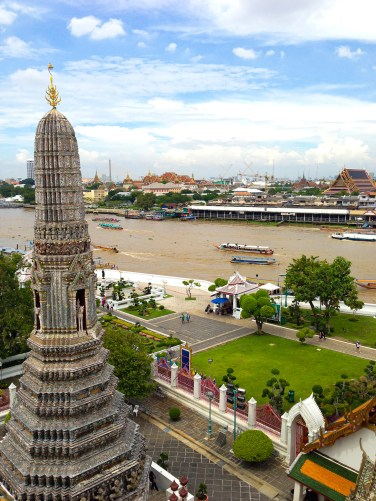 Unique views of Bangkok from Wat Pho