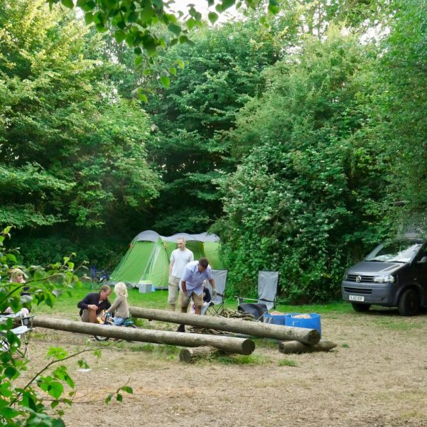 Camping at New Forest Water Park