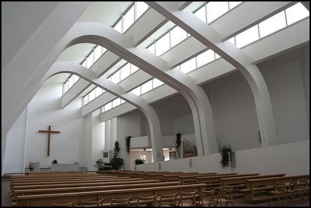 S. Maria Assunta, Riola (BO), progettata da Alvar Aalto