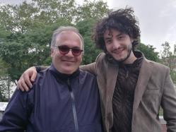 con Roberto Gervasi