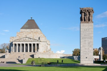 Melbourne - Memoriale di Guerra (Shrine of Remembrance)