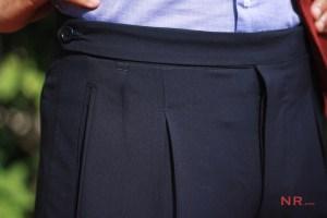Bespoke trouser by Sartoria Fabio Sodano, Napoli.