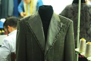 Bespoke jacket by Sartoria Fabio Sodano, Napoli.
