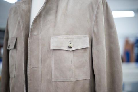 Rifugio, handmade leather jacket.