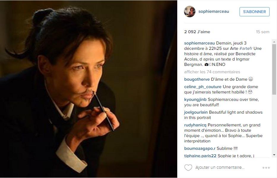 Instagram Sophie Marceau