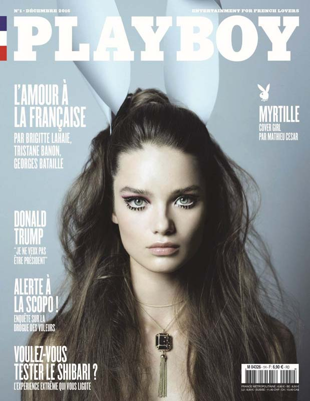 Couverture Playboy Myrtille Revemont