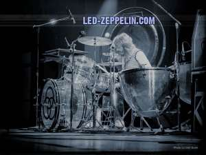 John Bonhham, Led Zeppelin