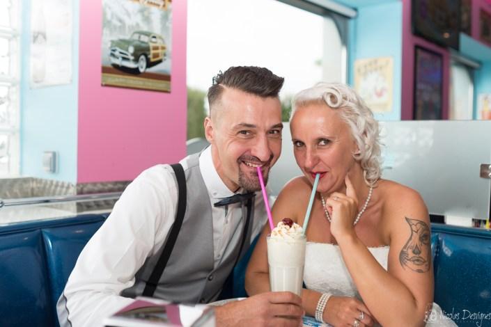 mariage rockabilly