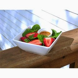 Salad – Spinach And Strawberry Salad