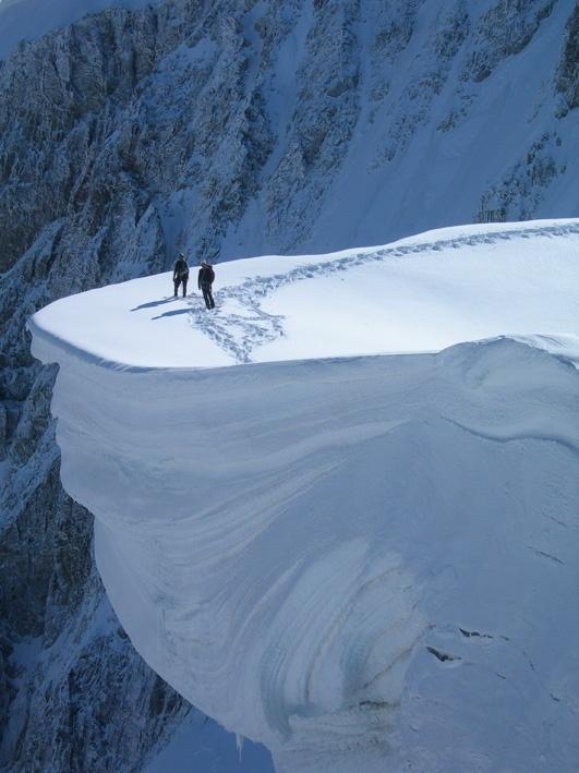 On the Edge, Mount Blanc, France